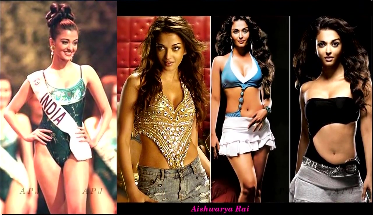 Aishwarya Rai Bollywood Actress Hot swimsuit Photo 2