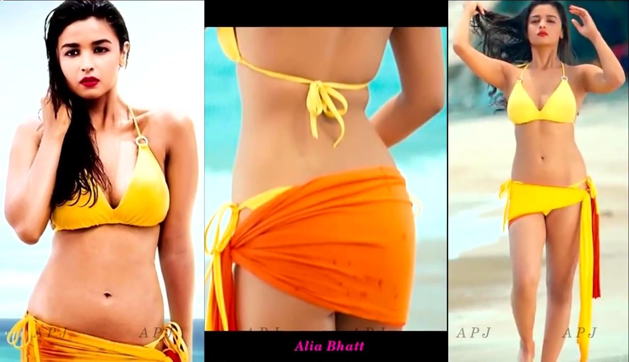 Alia Bhatt Bollywood Actress Hot two piece Photo 3