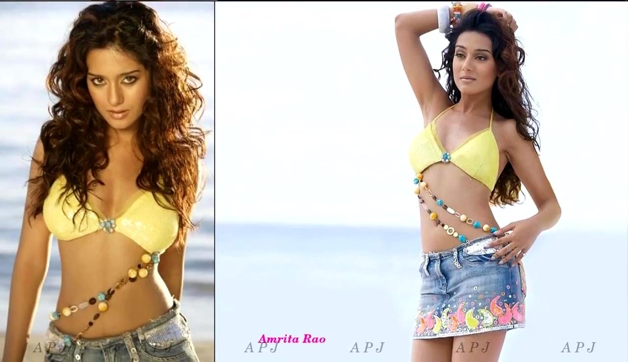Amrita Rao Bollywood Actress Hot Bikini Photo 6