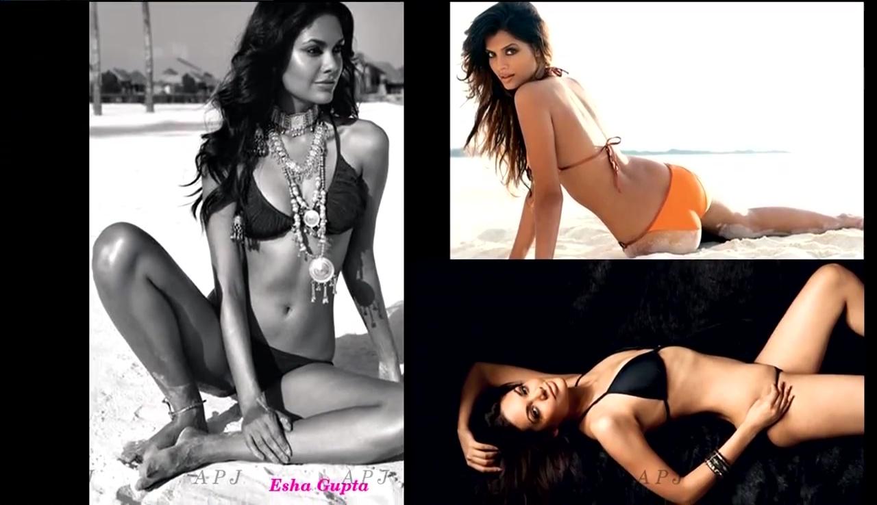 Esha Gupta Bollywood Actress Hot Bikini Pics 11