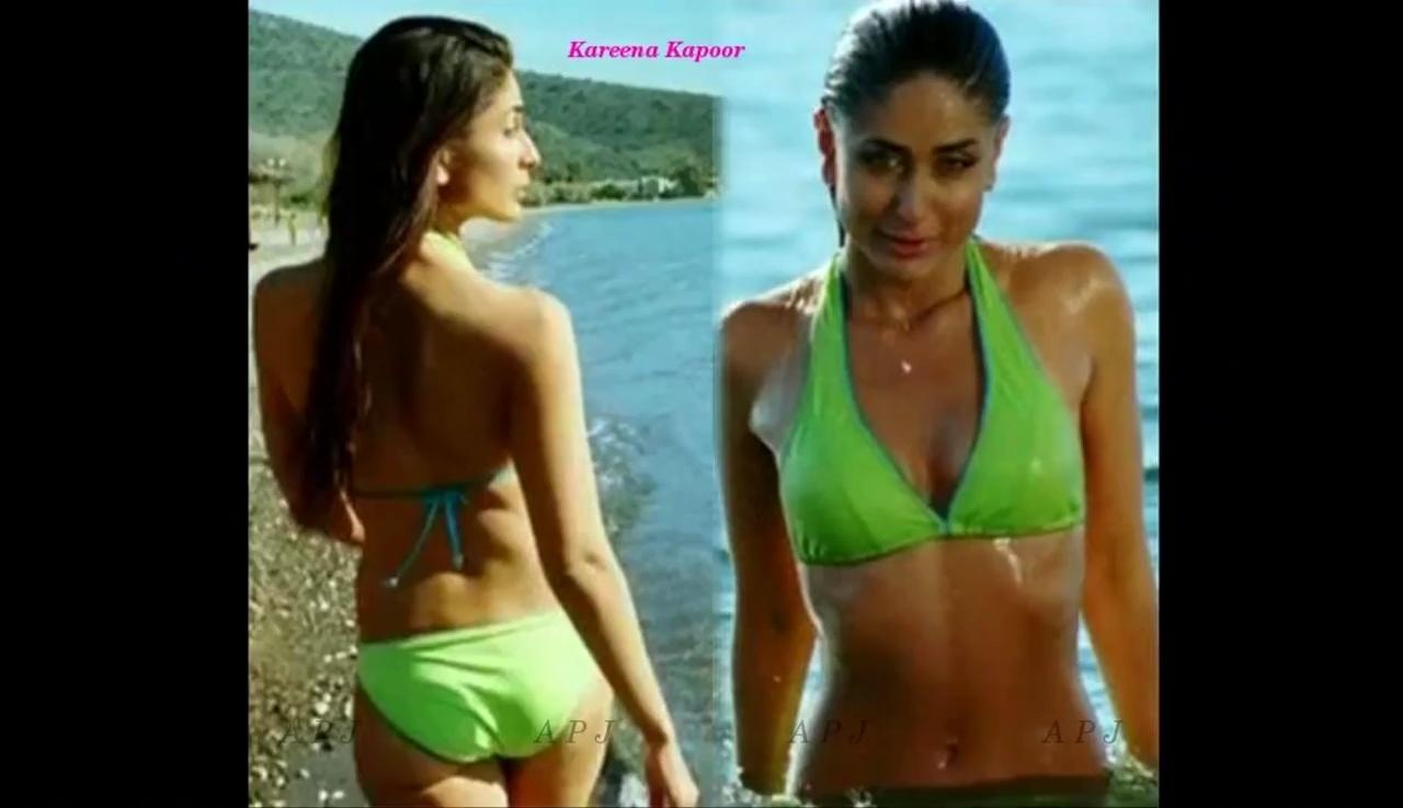Kareena kapoor Bollywood Actress Hot Bikini Photo 17