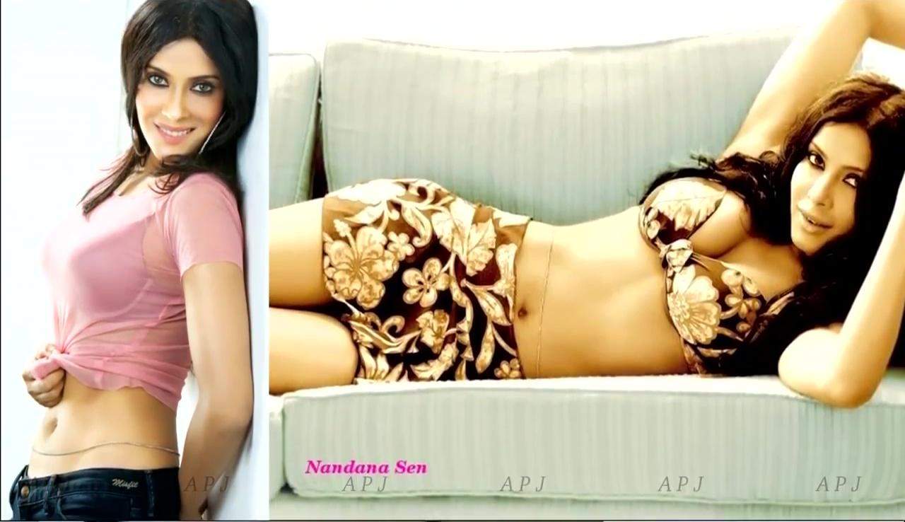 Nandana sen Bollywood Actress Hot Bikini Photo 25