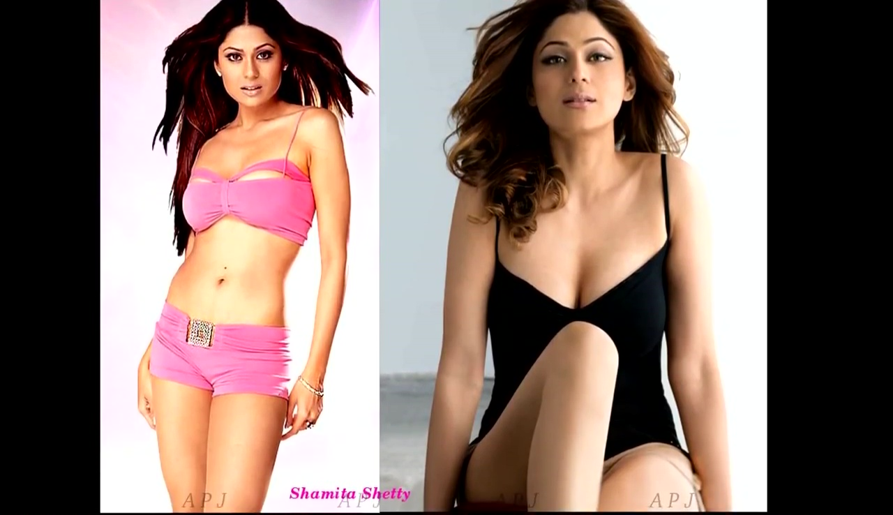 Shamita shetty Bollywood Actress Hot swimsuit Pic 38