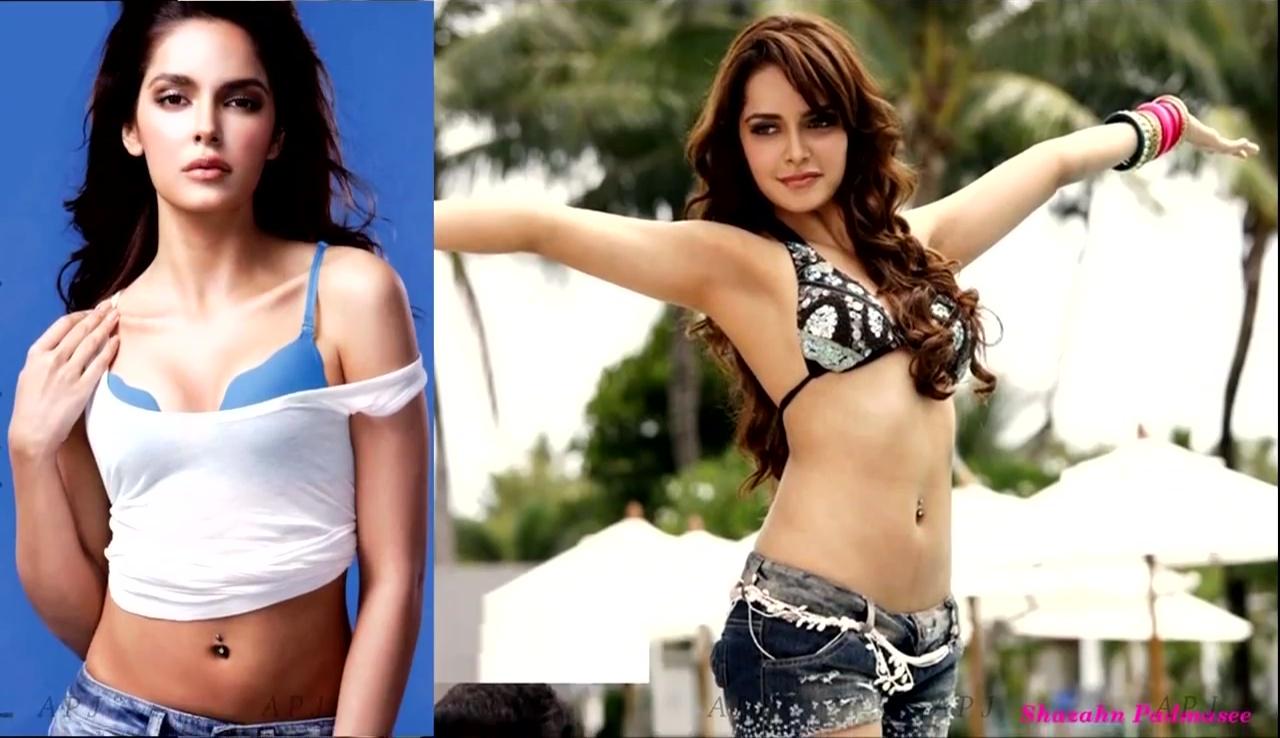 Shazahn padmasee Bollywood Actress Hot swimsuti Pic 39