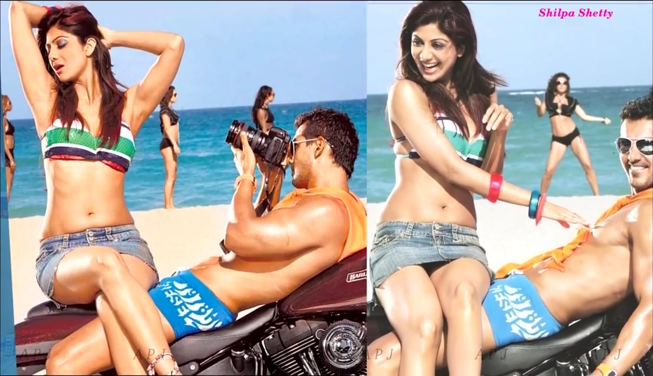 Shilpa shetty Bollywood Actress Hot swimsuit Pic 41