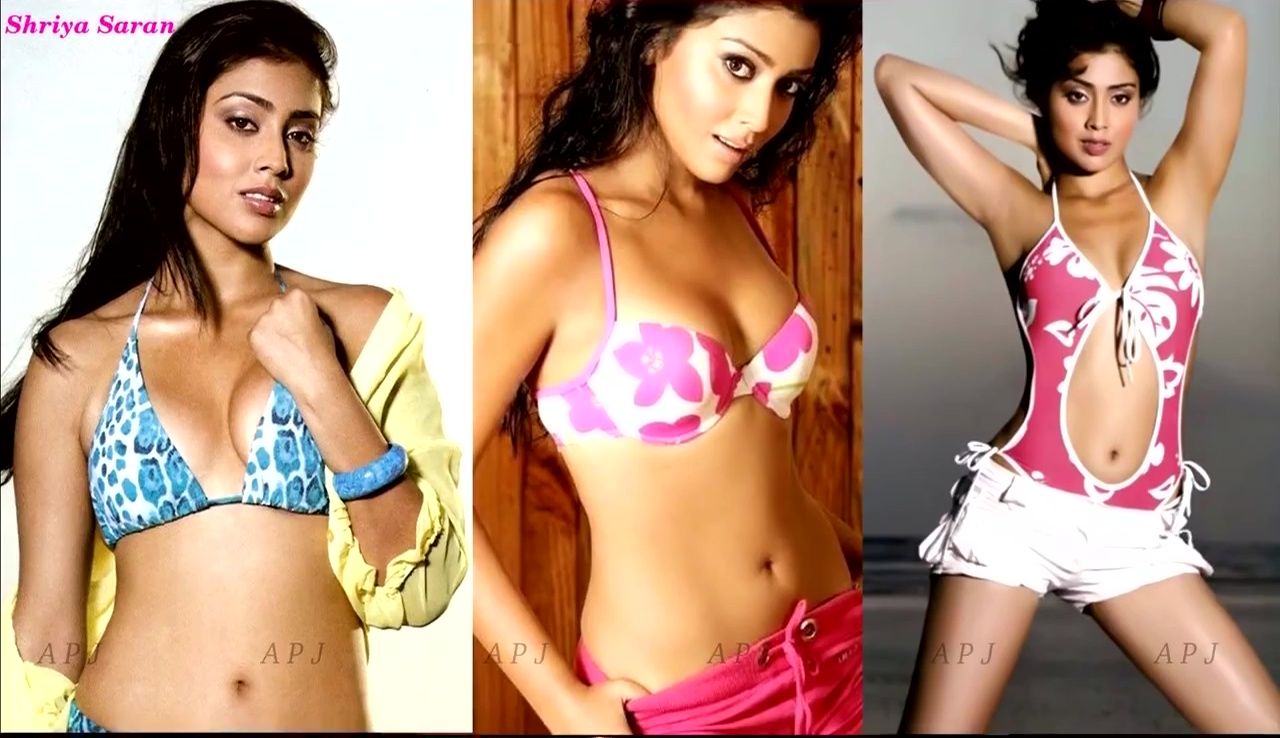 Shriya saran Indian Actress Hot Bikini Pic 42