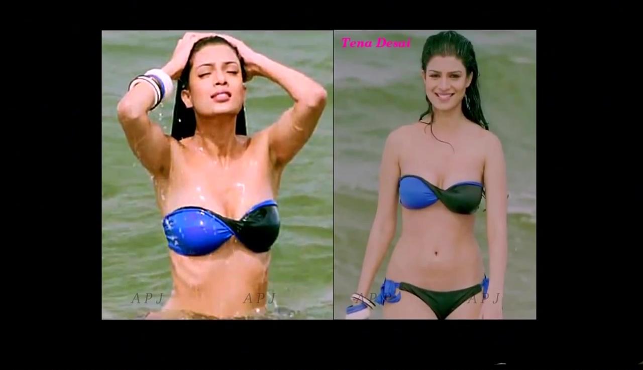 Tena desai Bollywood Actress Hot Bikini Pic 49