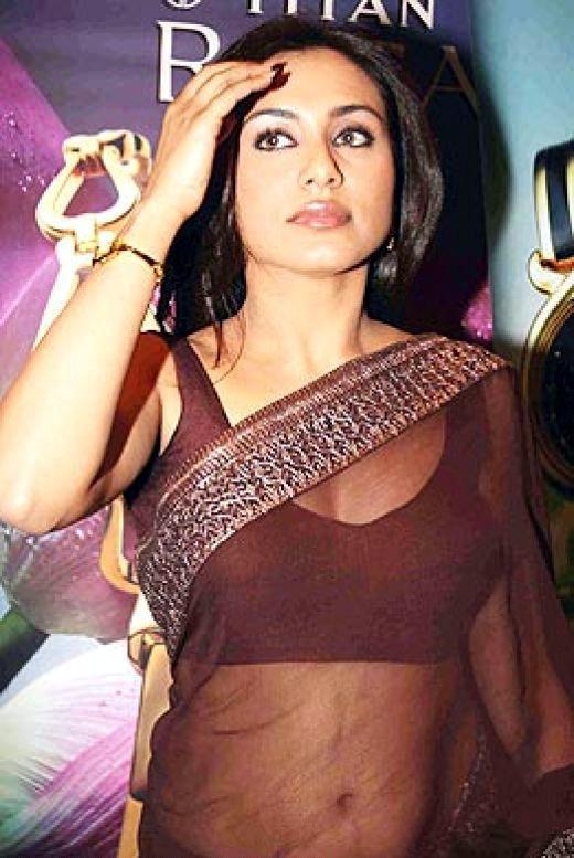 Rani Mukherjee_029_BWEvent Brown TSaree