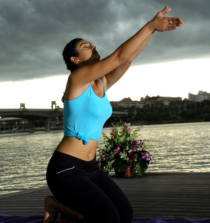 Image result for ileana d'cruz yoga