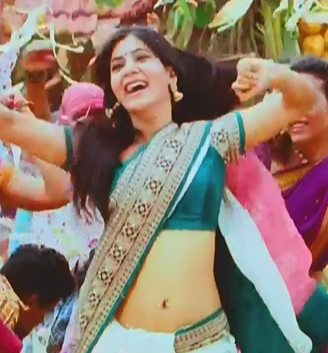 Samantha_Attarintiki Daredi_004_Saree Song