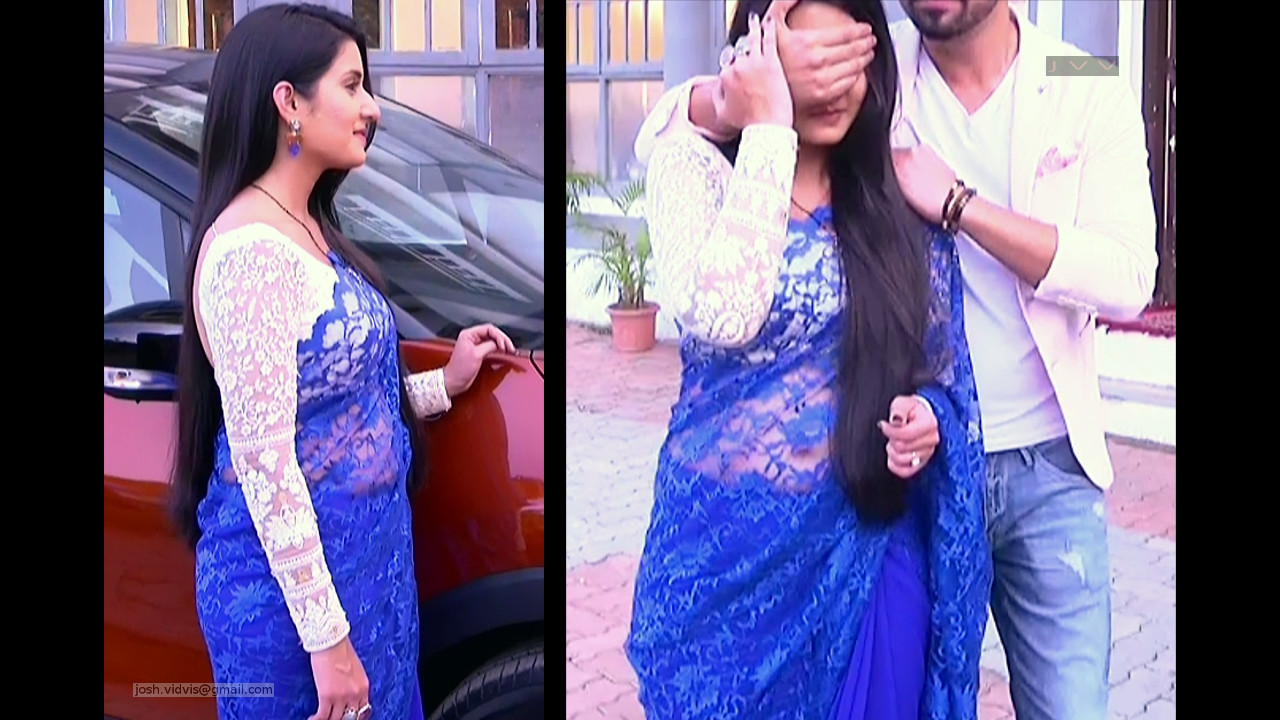 Aditi Rathore_Hindi TV Actress_03_Hot Saree navel