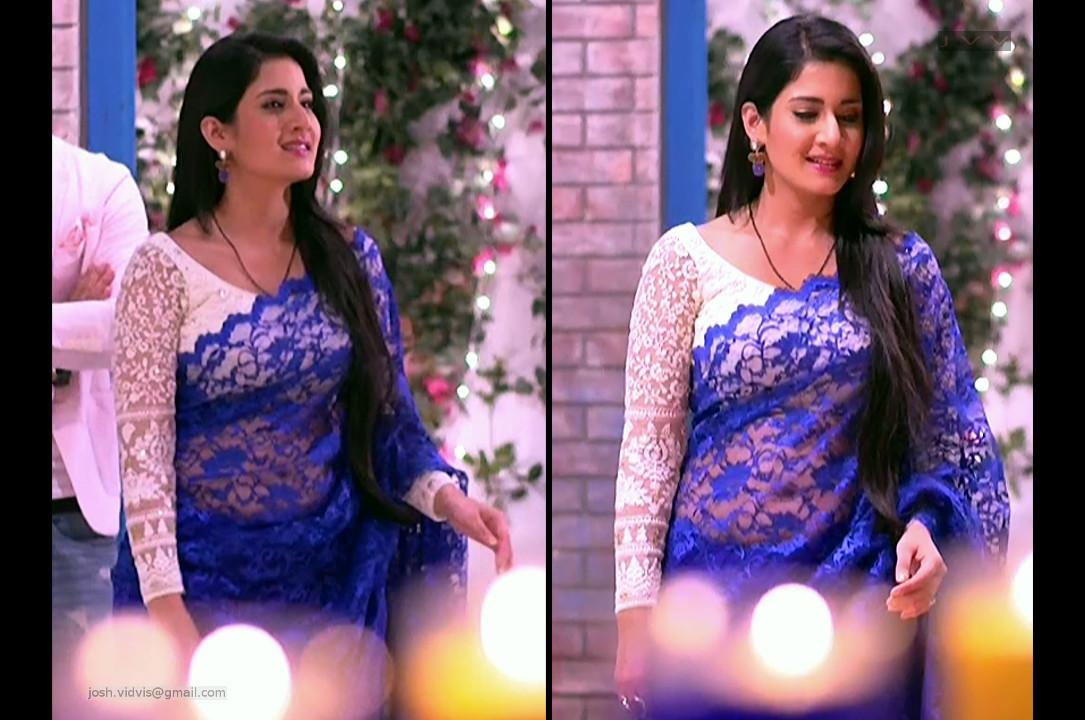 Aditi Rathore_Hindi TV Actress_04_Hot Saree navel