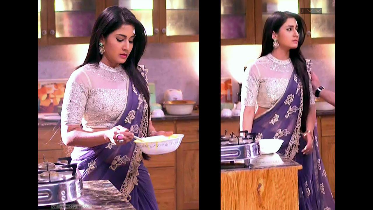 Aditi Rathore_Hindi TV Actress_10_Hot Saree navel