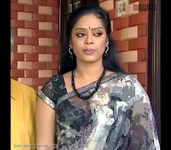 DeviPriya_Tamil TV Actress_02_hot saree