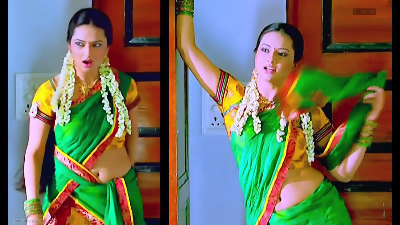 Isha Chawla_SN_02_Saree Navel Scene
