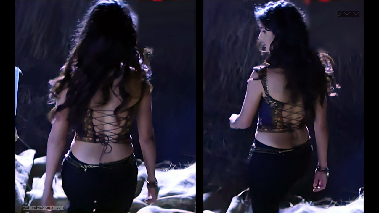Katrina Kaif_Tel Movie Hot cleavage_03