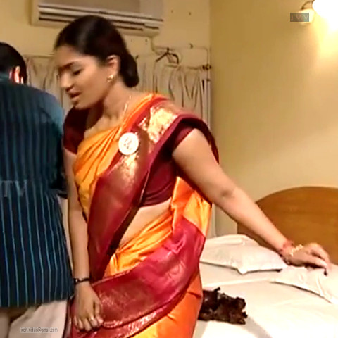 Krithika_Tami TV _04_hot saree navel caps