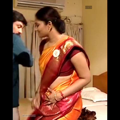Krithika_Tami TV _05_hot saree navel caps