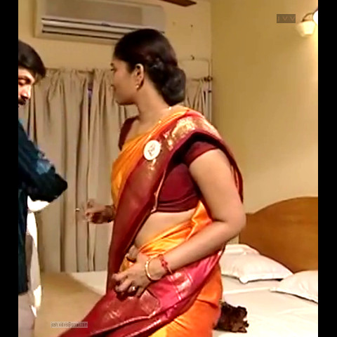 Krithika_Tami TV _06_hot saree navel caps
