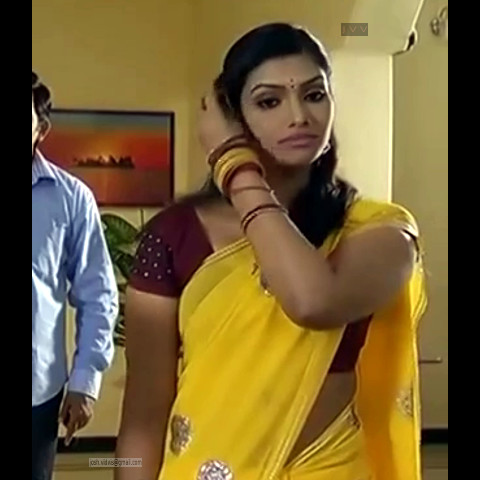 Krithika_Tami TV _12_hot saree navel caps