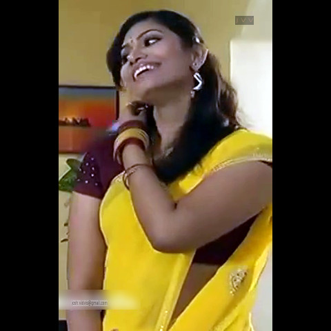 Krithika_Tami TV _14_hot saree navel caps