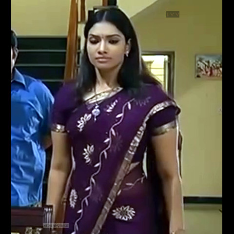Krithika_Tami TV _16_hot saree navel caps