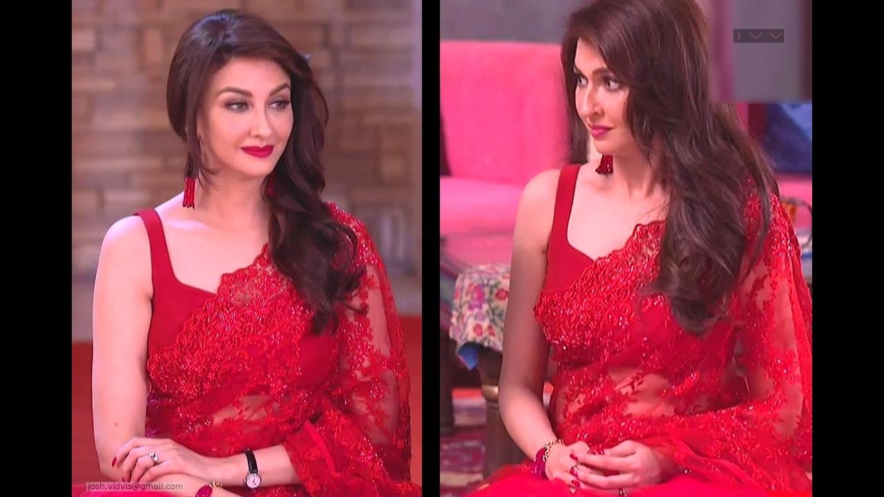 Saumya Tandon_Hindi TV Actress_01_Hot Saree navel Pics