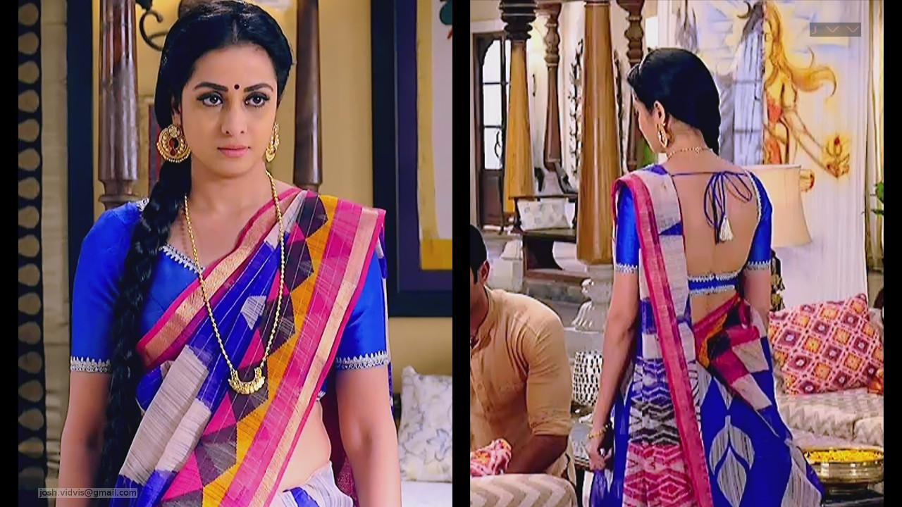 Madhura Naik_Hindi TV actress_02_Hot Backless saree Pics