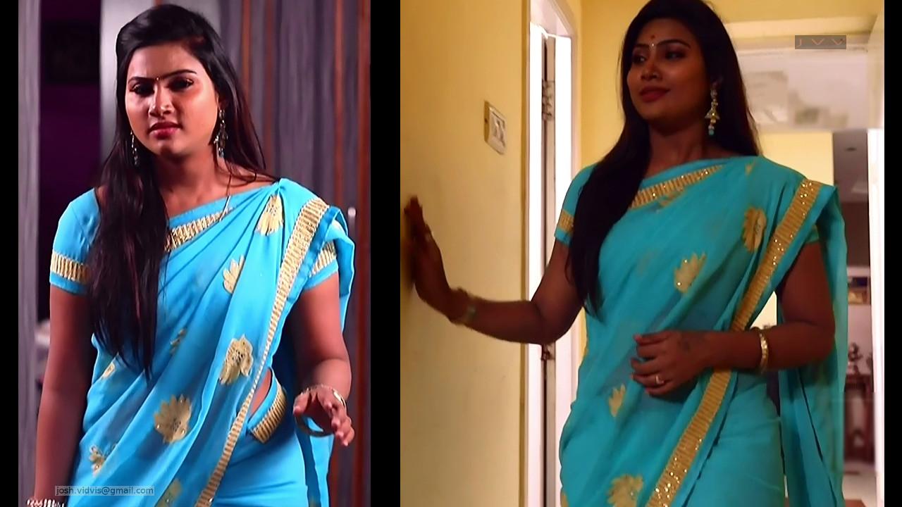 Nandhini_Tamil TV Actress02_Saree Caps