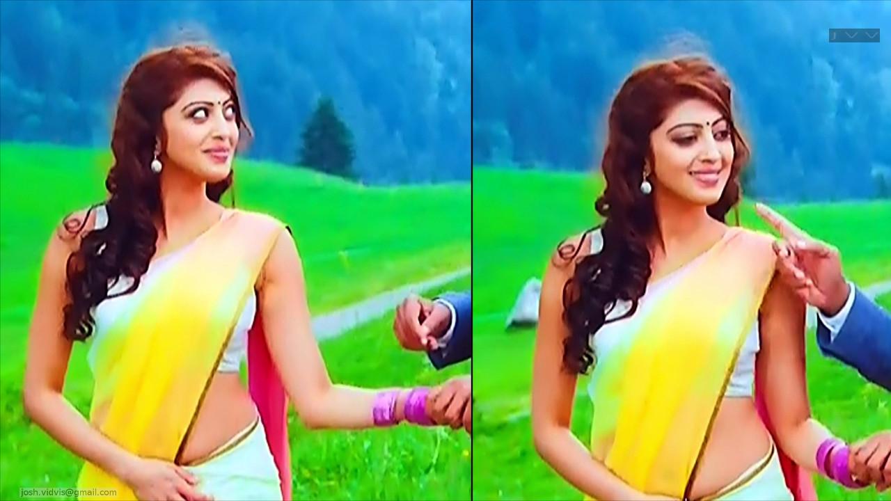 Pranitha Subhash_AD-Song1_10_Hot Saree navel Pics
