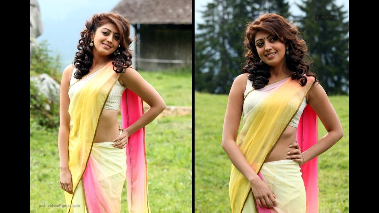Pranitha Subhash_AD-Song1_11_Hot Saree navel Pics