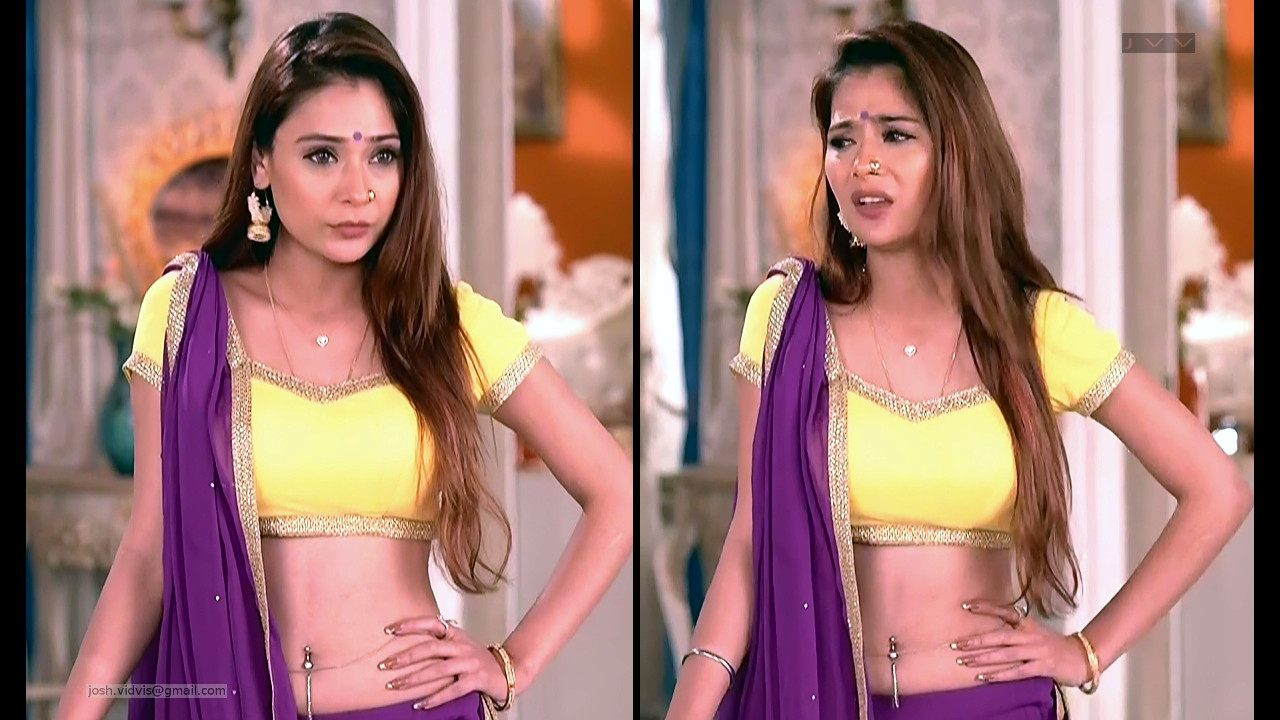 Sara Khan_Hindi TV_ShaktiAKEK_02_Lehenga Hot Pics