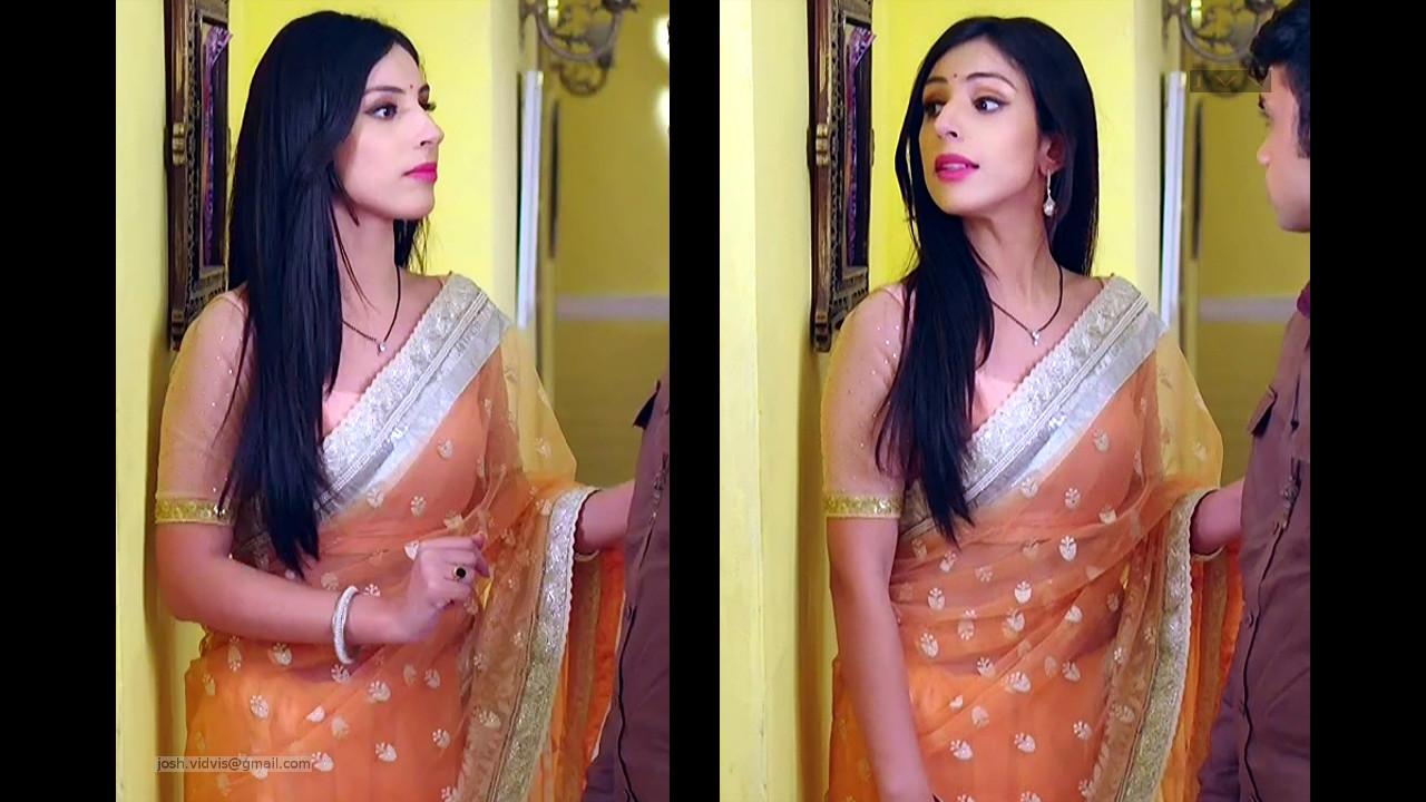 Simran Kaur_TV Actress_04_Transparent Saree pics