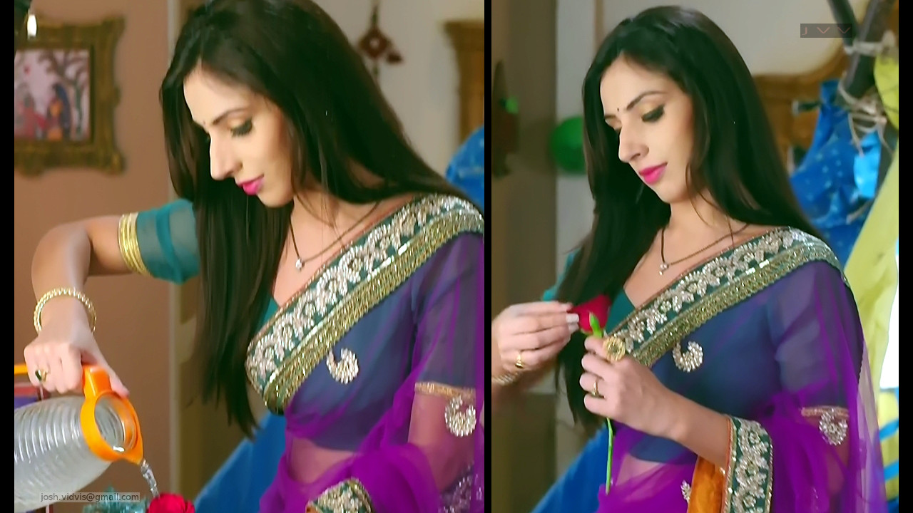 Simran Kaur_TV Actress_06_Saree Caps