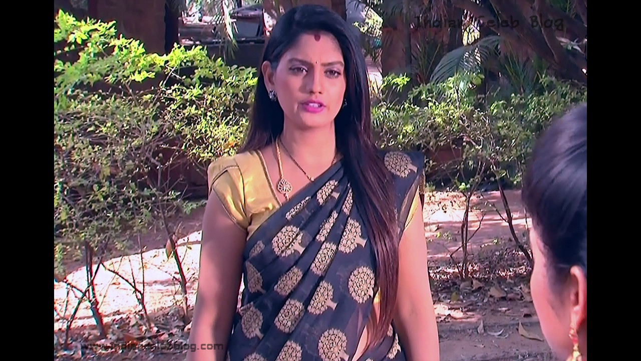 Karuna_Telugu TV Actress_03_Hot Saree Pics