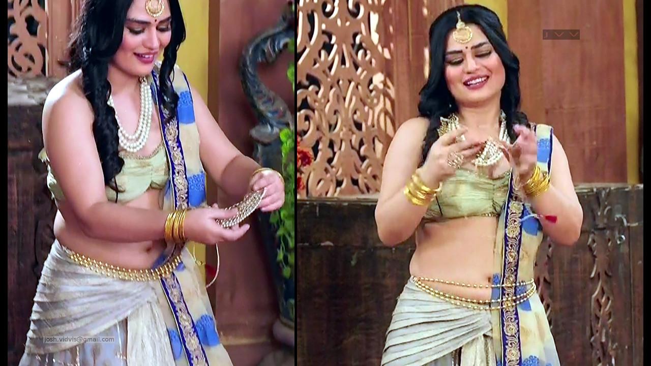 Renee Dhyani_TV Actress_06_Hot navel show pics