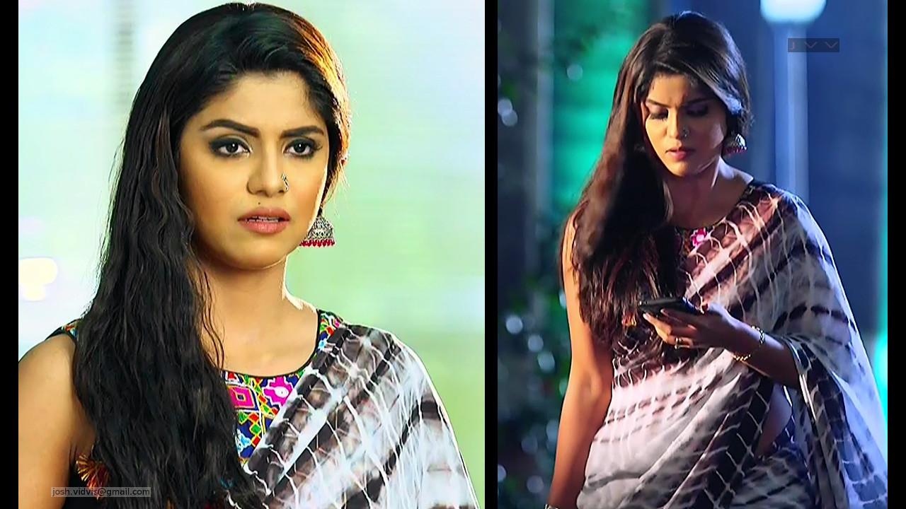 Sayantani Ghosh_Hindi TV Actress_01_Hot Saree Pics