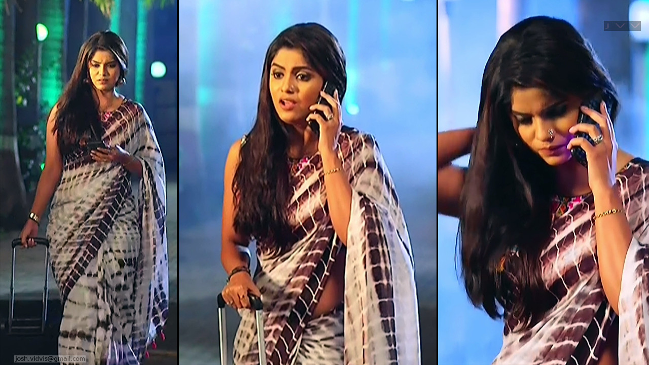 Sayantani Ghosh_Hindi TV Actress_02_Hot Saree Pics