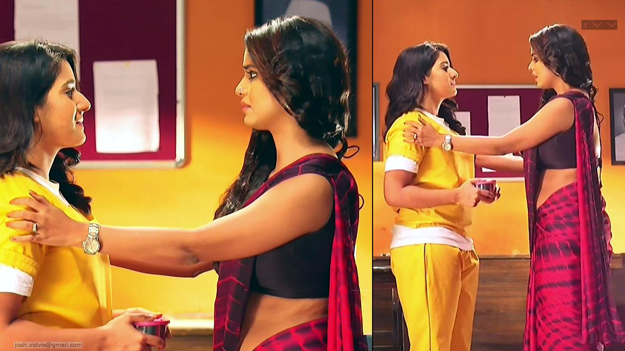 Sayantani Ghosh_Hindi TV Actress_07_Hot Saree Pics