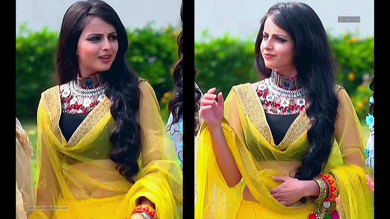 Shrenu Parikh_Hindi TV Actress_03_Lehenga Choli Pics
