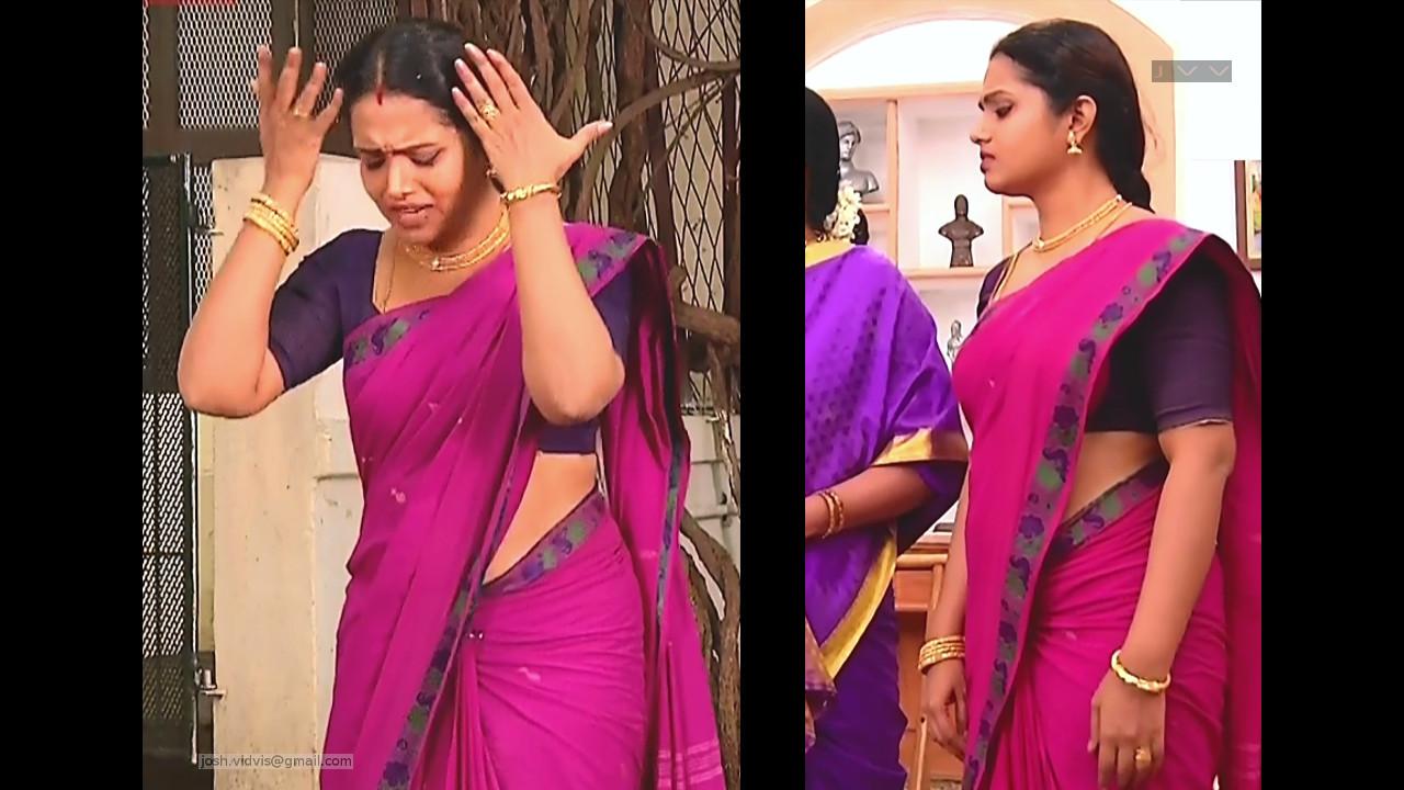Sudha_Tamil TV Actress_03_Saree Photos