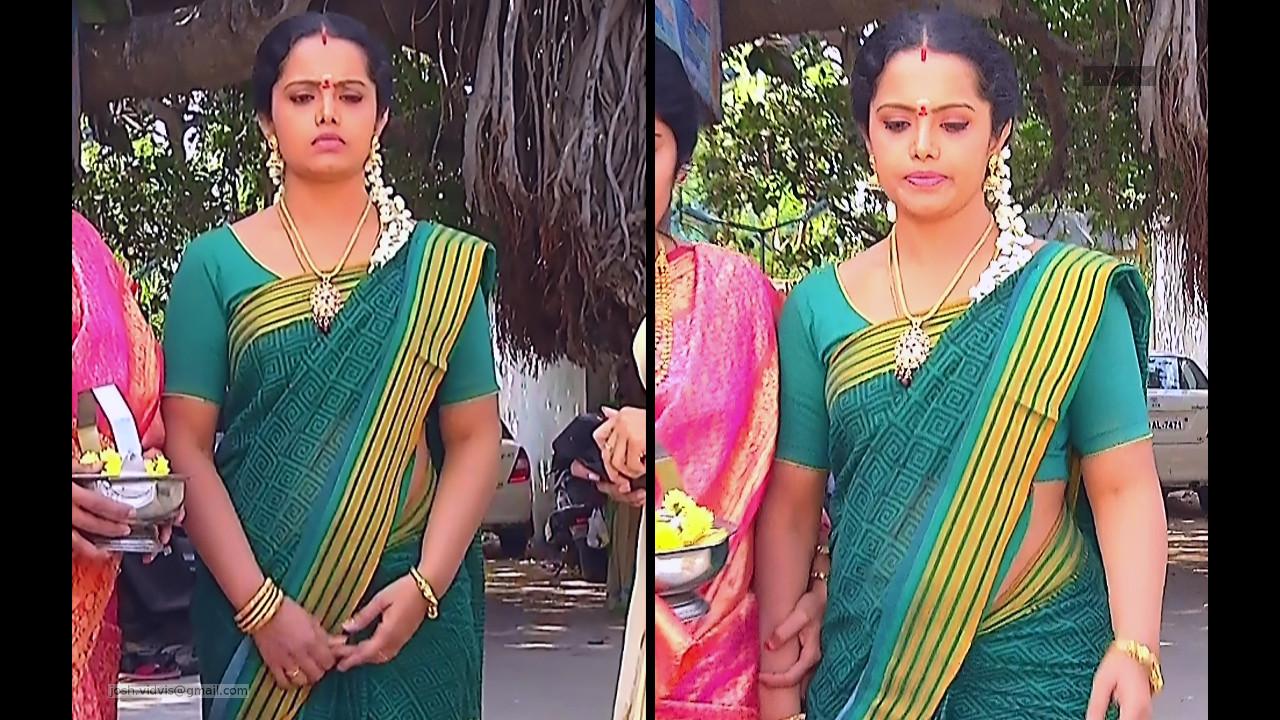 Sudha_Tamil TV Actress_04_Saree Photos