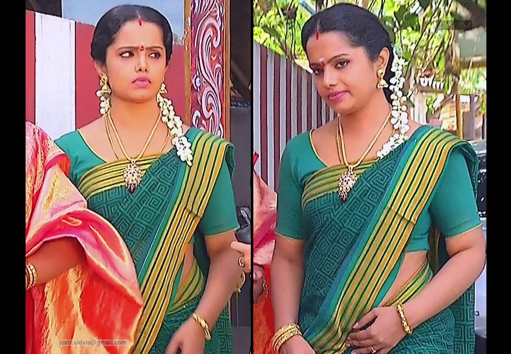 Sudha_Tamil TV Actress_05_Saree Photos