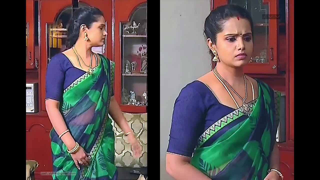 Sudha_Tamil TV Actress_08_Saree Photos