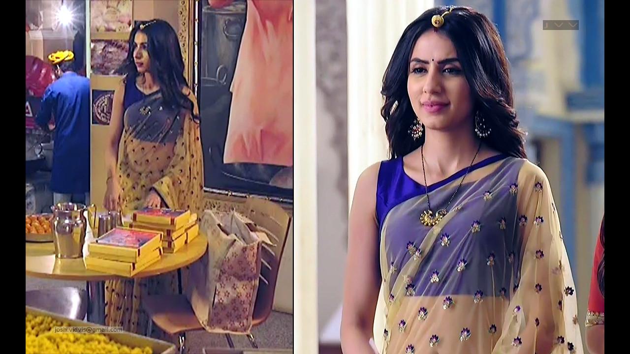 Swati Kapoor_Hindi TV Actress_25_Saree Navel