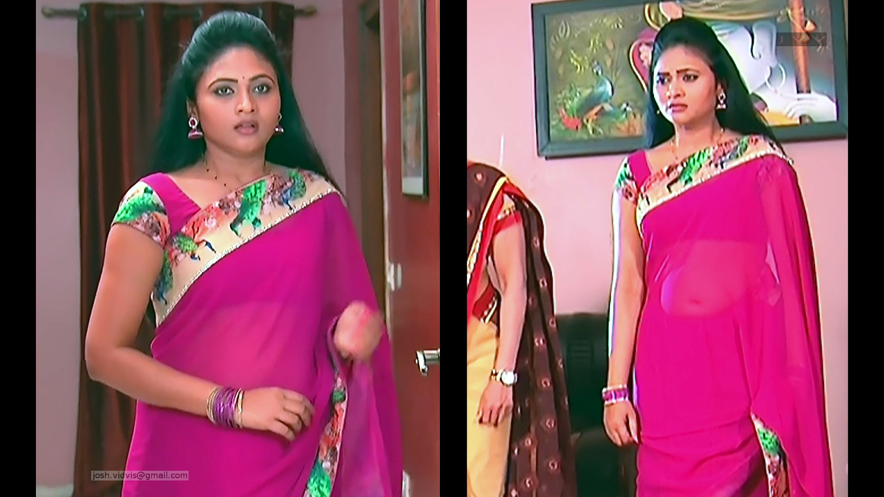 Telugu TV Actress_SVSC-S2_06_Hot Saree Pics