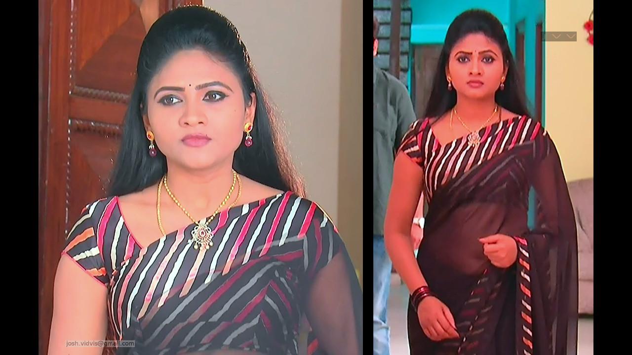 Telugu TV Actress_SVSC-S2_07_Hot Saree Pics
