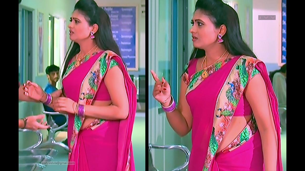 Telugu TV Actress_SVSC-S2_08_Hot Saree Pics