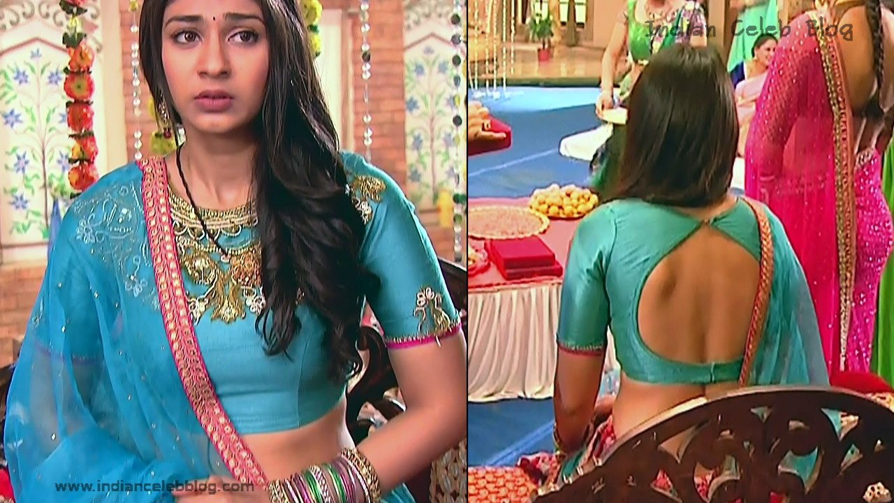 Vidhi Pandya_Hindi TV Actress_04_Hot Saree Pics