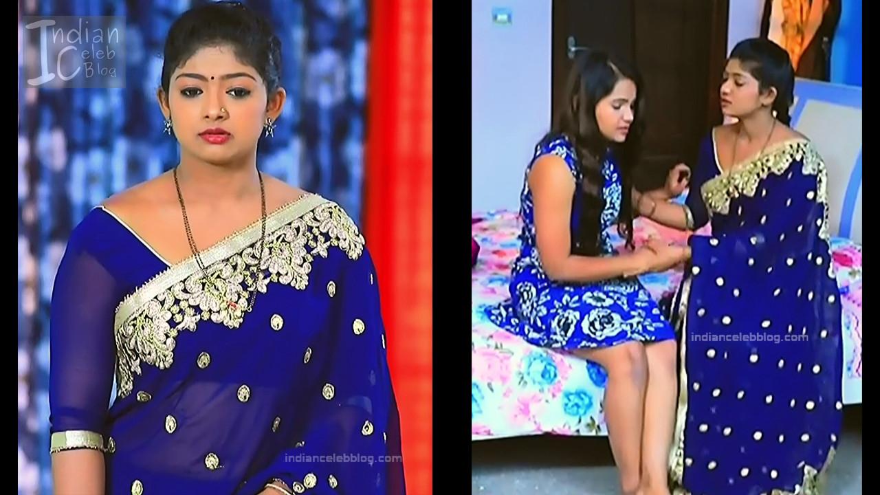 Bhoomi Shetty_Kannada TV_3_Hot serial saree caps